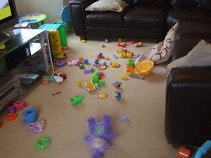 A day in the life of a toddler ...