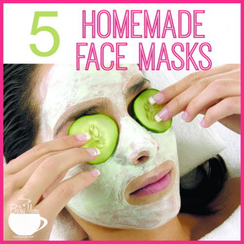 5 Homemade Face Masks For The Busy Mom I thebusymom.com