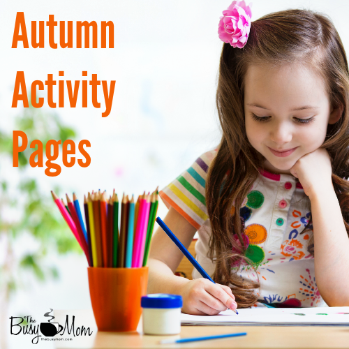 Autumn Activity Pages The Busy Mom (1)