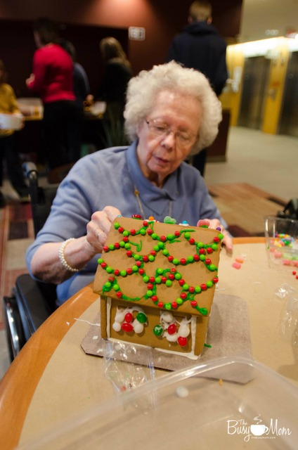 Bethany gingerbread houses