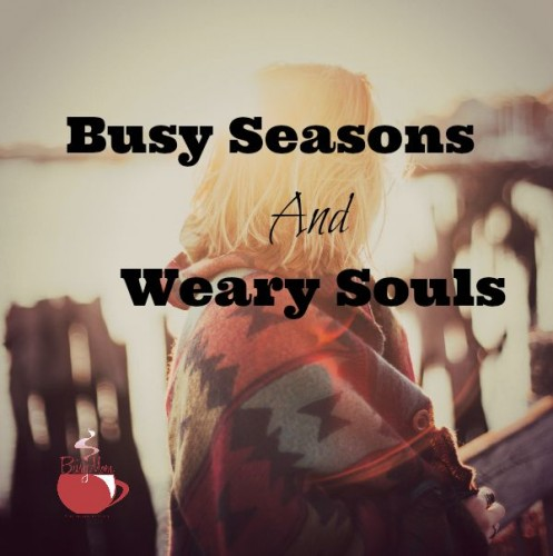 Busy Seasons and Weary Souls TBM