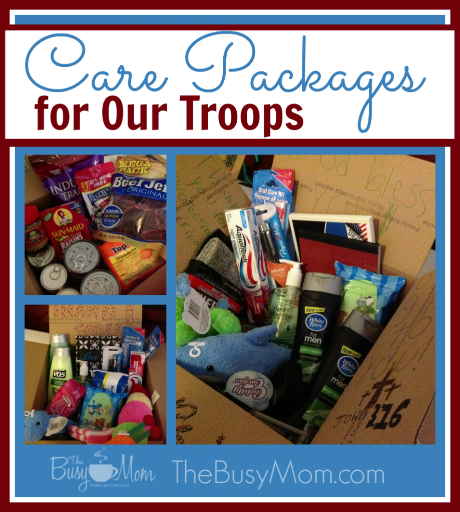 Care Packages Collage