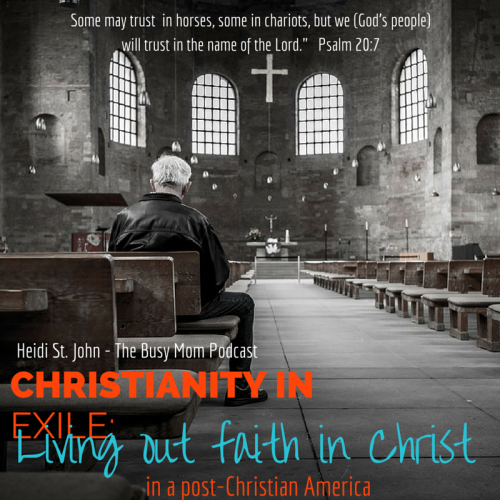 Christianity is under attack in the United States, and it's a new thing for many people, but God says we should not be troubled. How do we live for Christ in light of recent events? By LIVING for Christ.