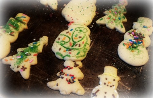 Christmas cookies finished