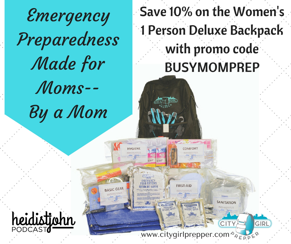 Emergency PreparednessMade for MomsBy a Mom