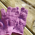Fall Skin and Hair Care -Exfoliating Gloves