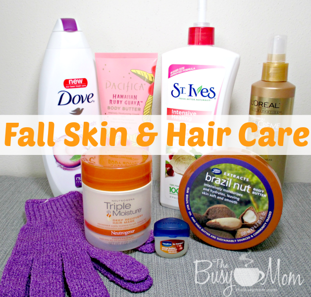 Fall Skin and Hair Care