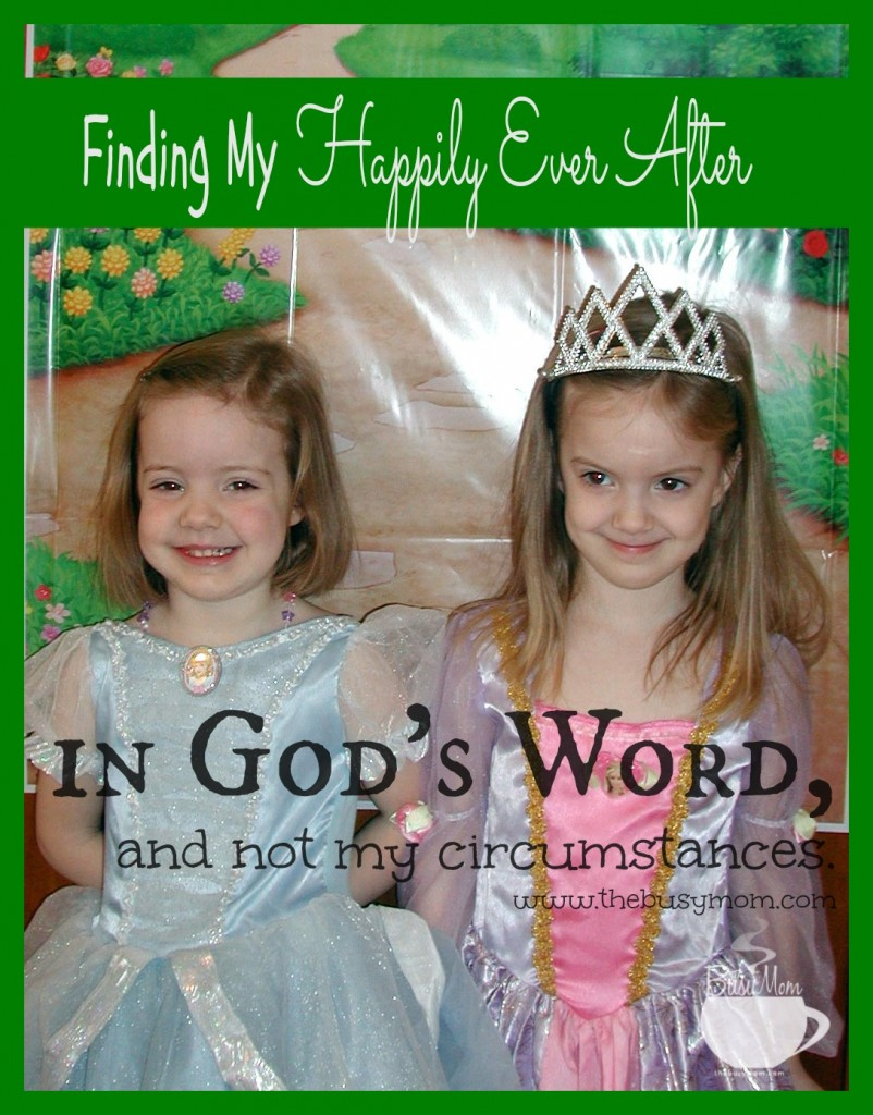 Finding My Happily Ever After @thebusymom.com