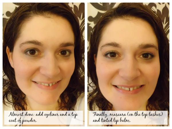 Eye makeup for moms