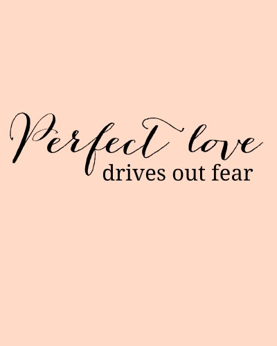 Perfect Love Printable