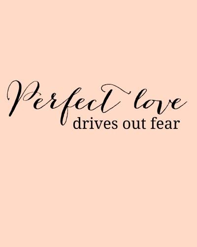 Perfect Love Printable