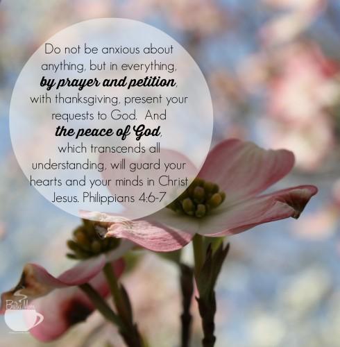 Philippians 4 @thebusymom.com