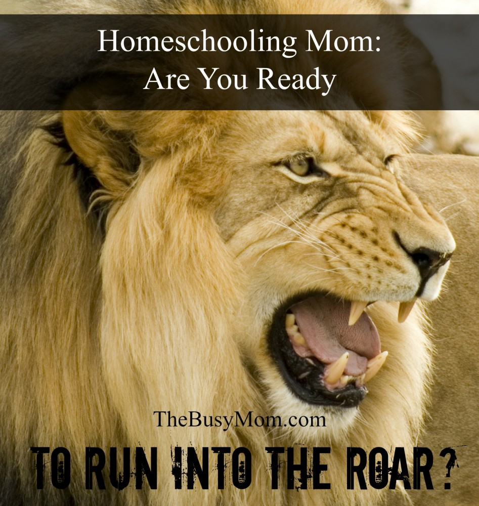 TBM Homeschooling Mom Are You Ready to Run into the Roar