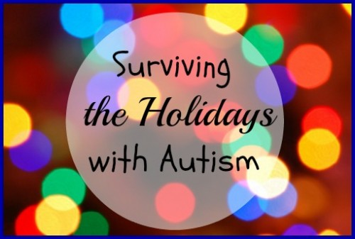 TBM Surviving the Holidays with Autism Pinnable Image