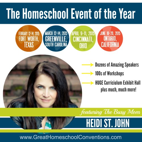 The Busy Mom Homeschool Conventions