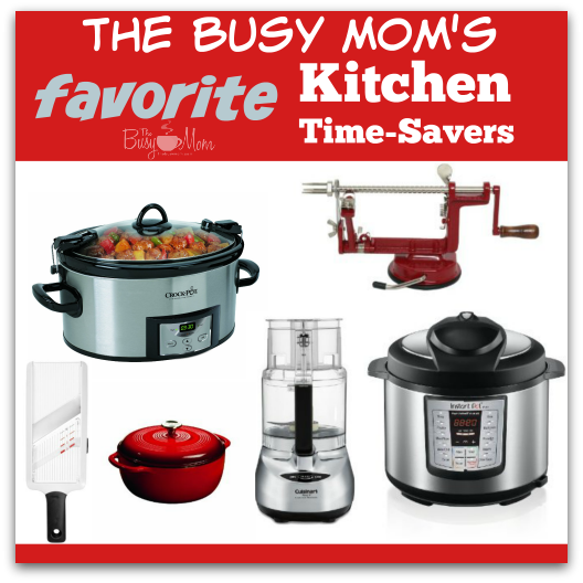 The Busy Mom's Favorite Kitchen Time-Savers