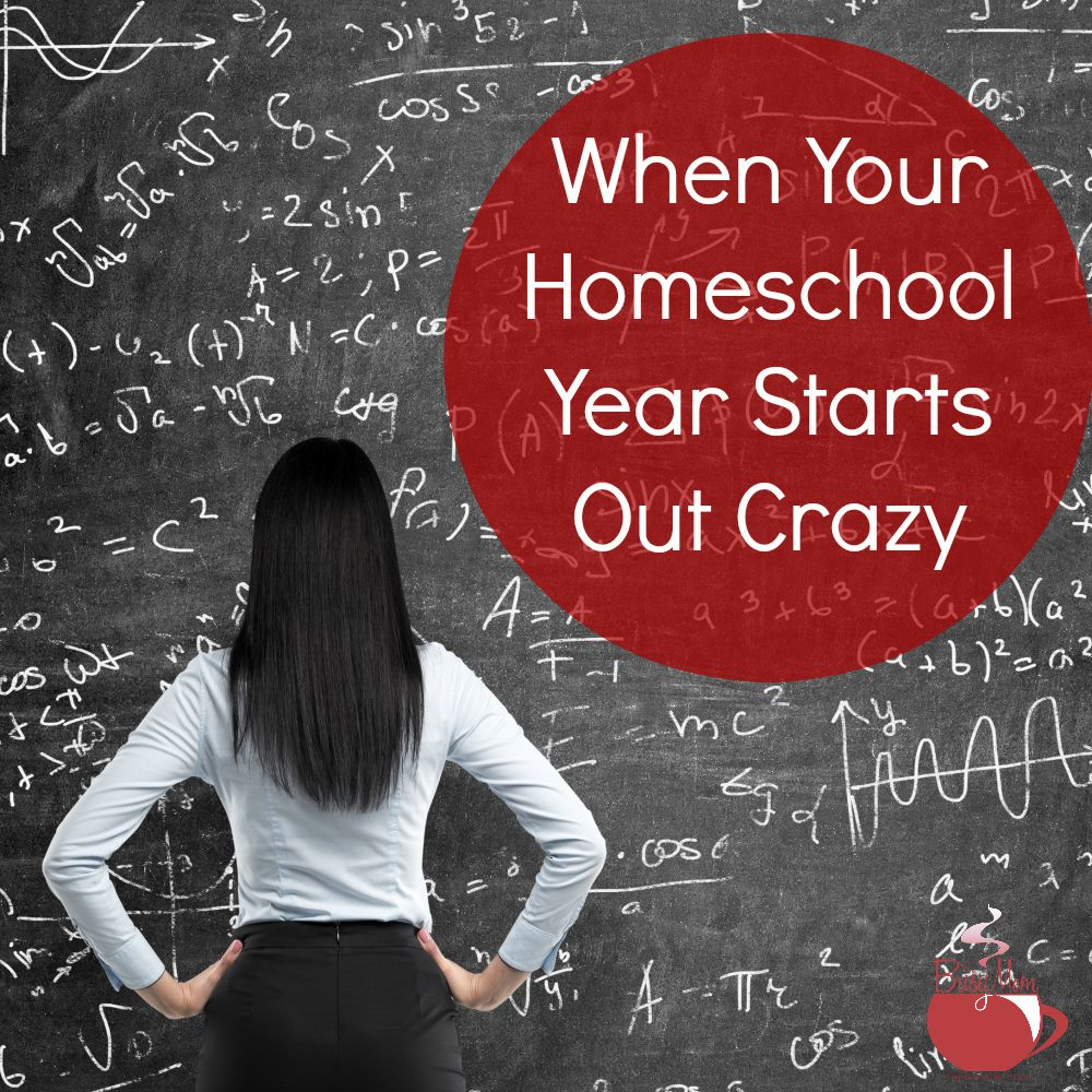 When Your Homeschool Year Starts Out Crazy
