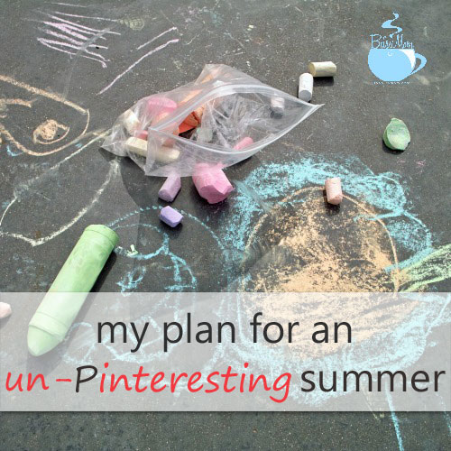 Easy activities for children for summer