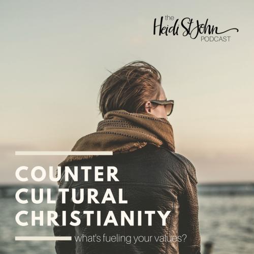 heidistjohn podcast: counter cultural christianity