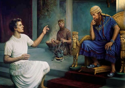 Daniel won the favor of a pagan king by his exemplary service.