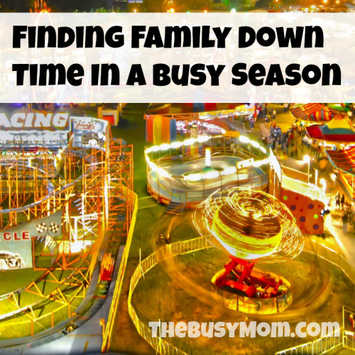family down time busy season