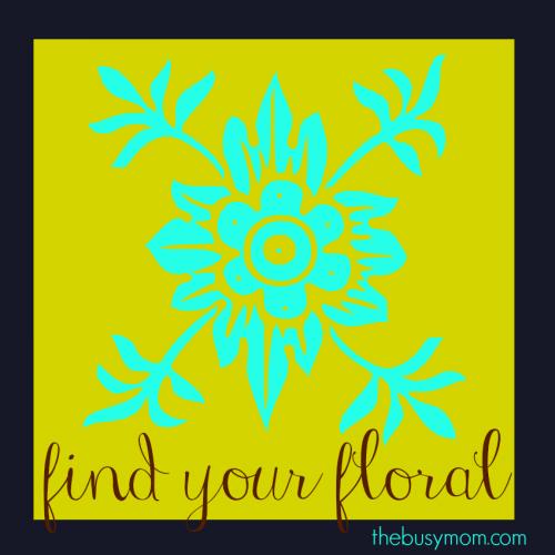 find your floral logo