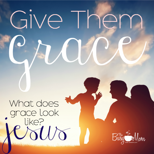 "When you read the word ""grace"" in the Bible, try substituting ""Jesus."" Jesus was grace personified."