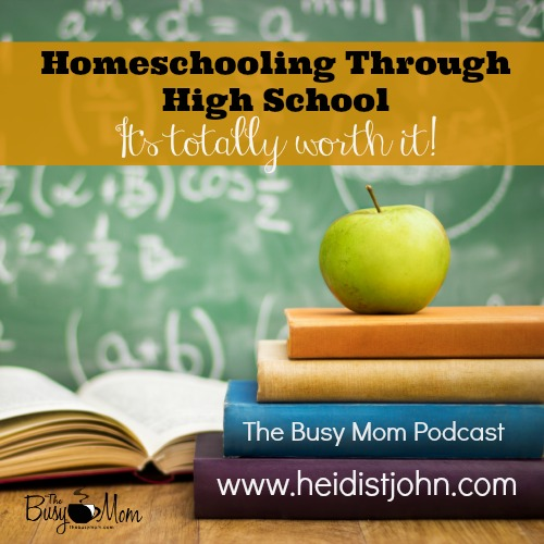"Can you homeschool all the way through high school? The answer is a resounding ""YES!"" Listen in as we answer FAQ's and offer encouragement to parents who are considering this wonderful option."
