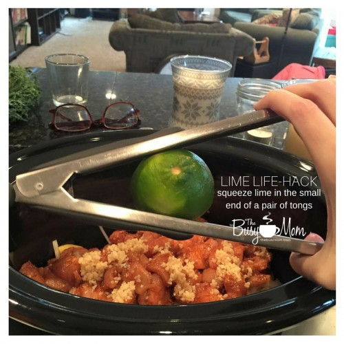Life Hack: squeezing a lime