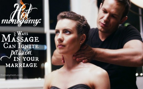 Find out how massage can help you connect with your husband and re-light the fire in your marriage@