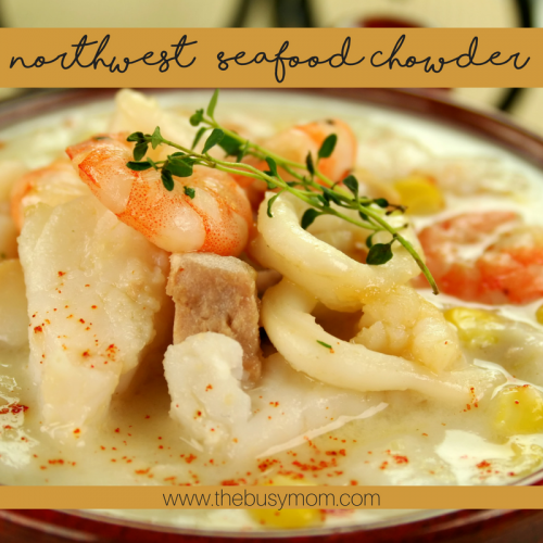 Northwest Seafood Chowder