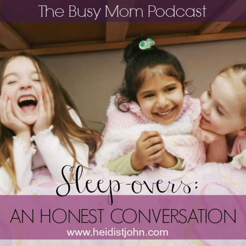 Are your kids begging you to let them go to a sleepover—and you're not sure what to do? We're talking about the pros and cons of sleepovers!
