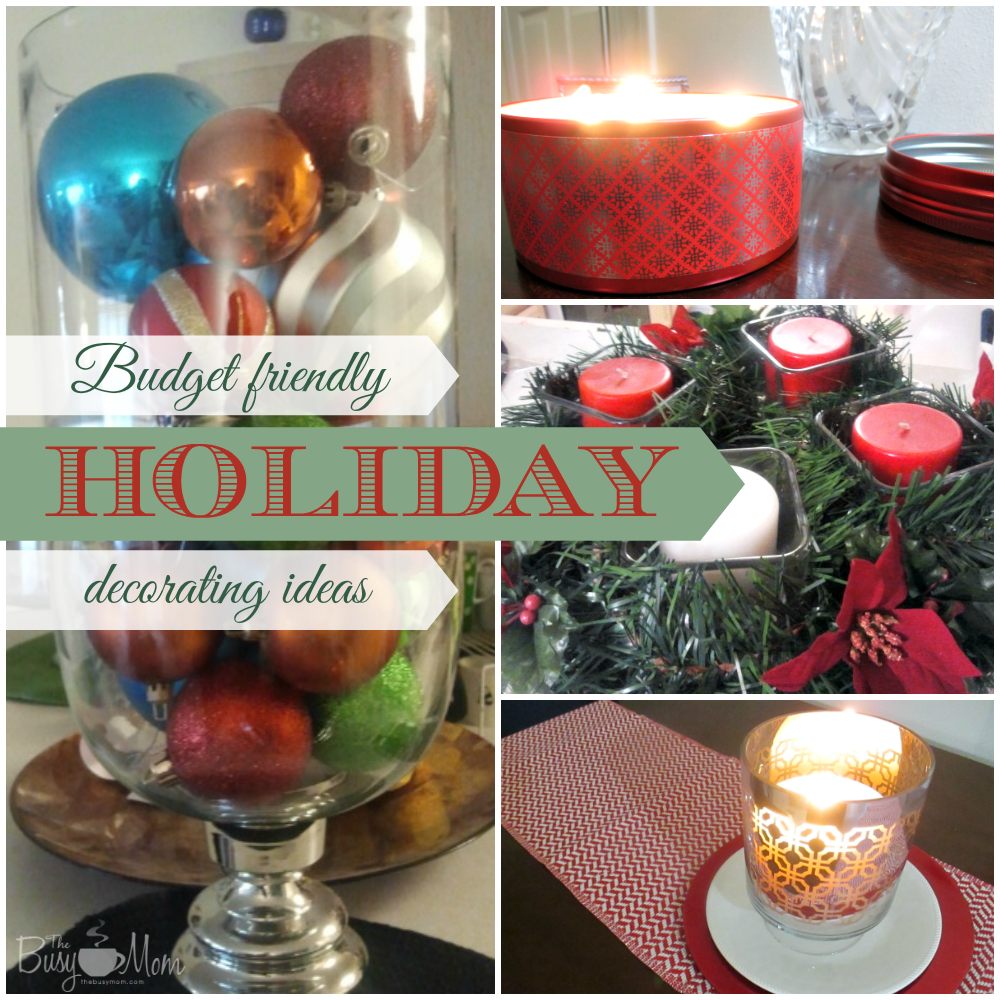 Budget Christmas Decorating: Budget Friendly Holiday Decorating Ideas