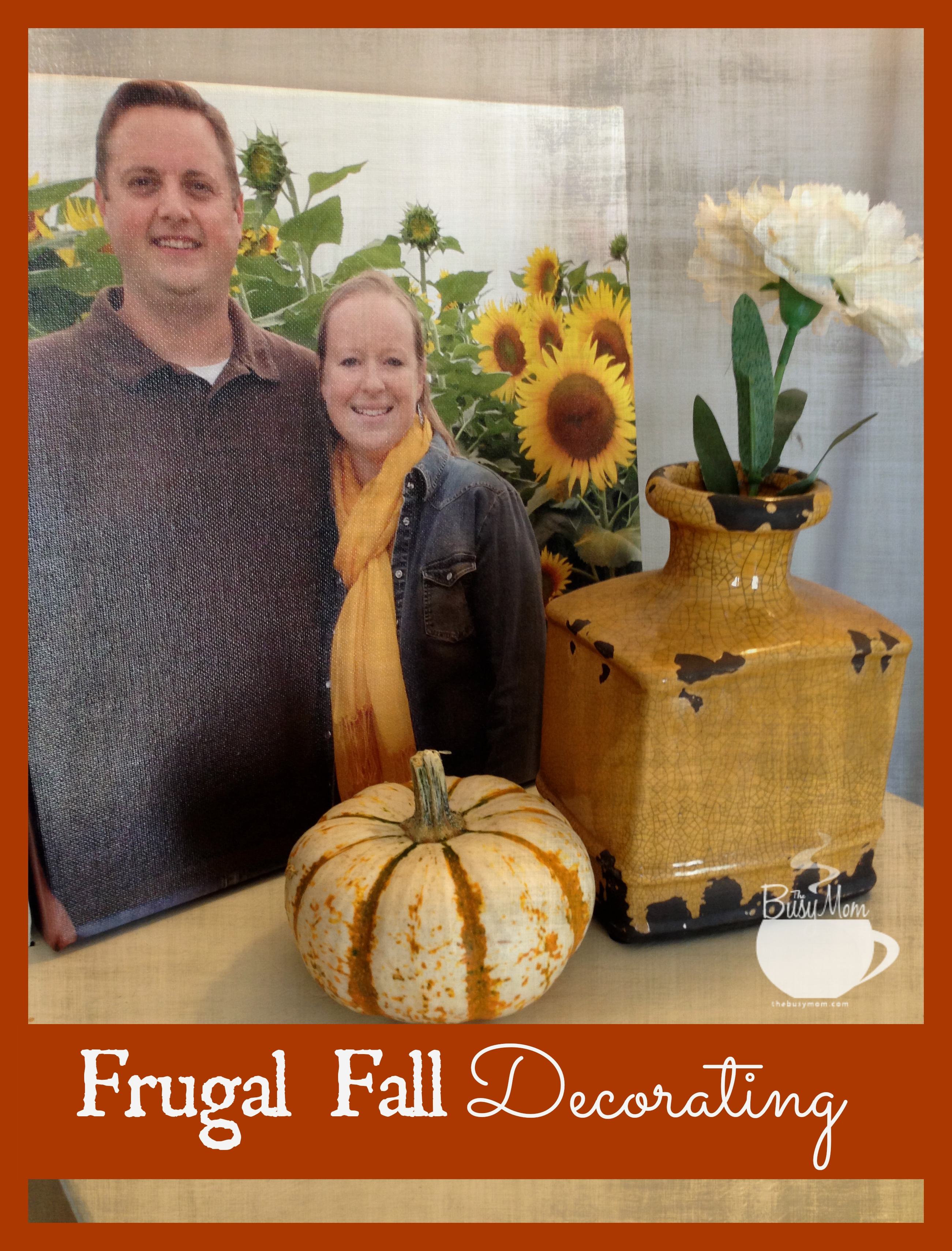 frugal fall decorating ideas author and speaker heidi