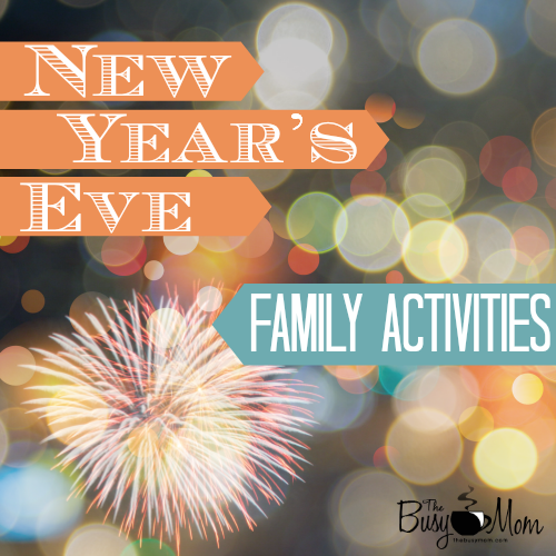 New Year S Eve Family Activities Author And Speaker Heidi St John
