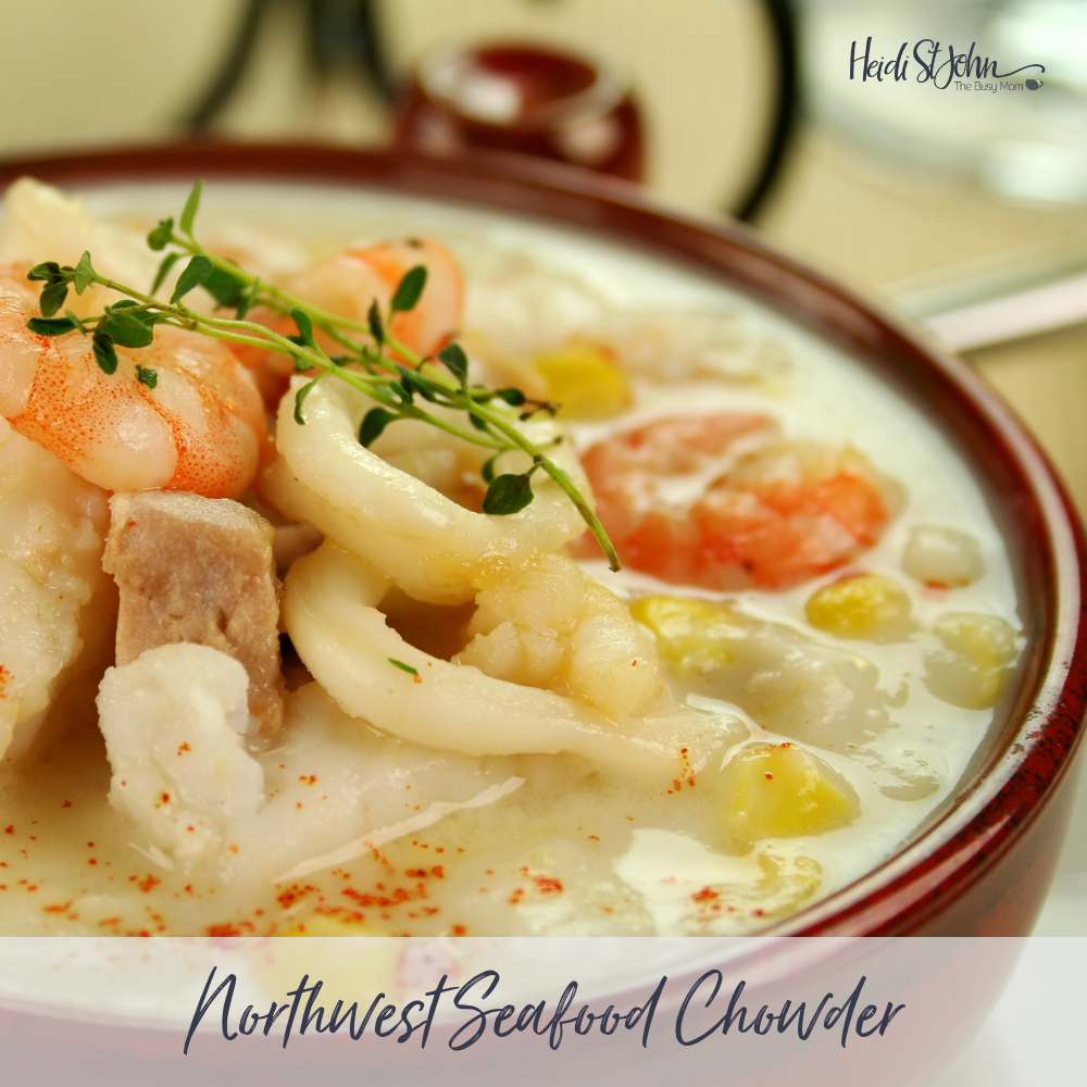 Northwest Seafood Chowder