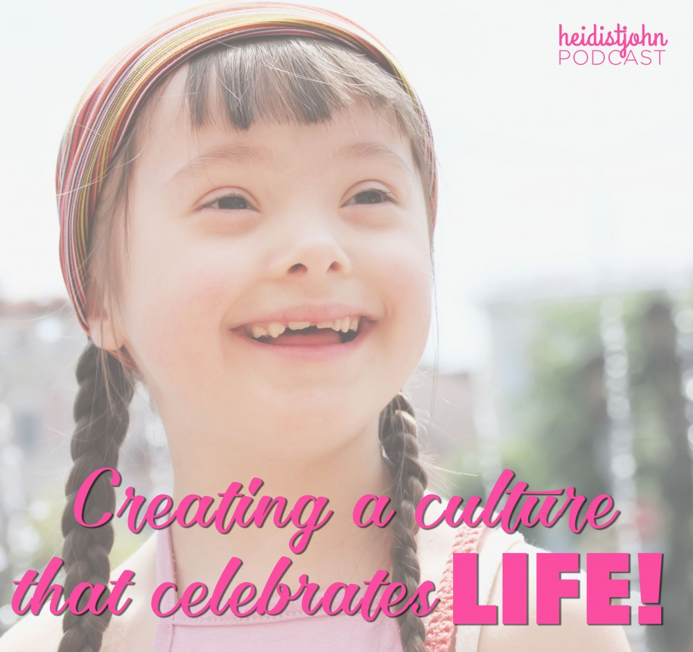 creating a culture that celebrates life, special needs, luke 14