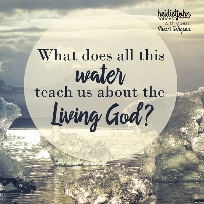 What does living water teach us about God?