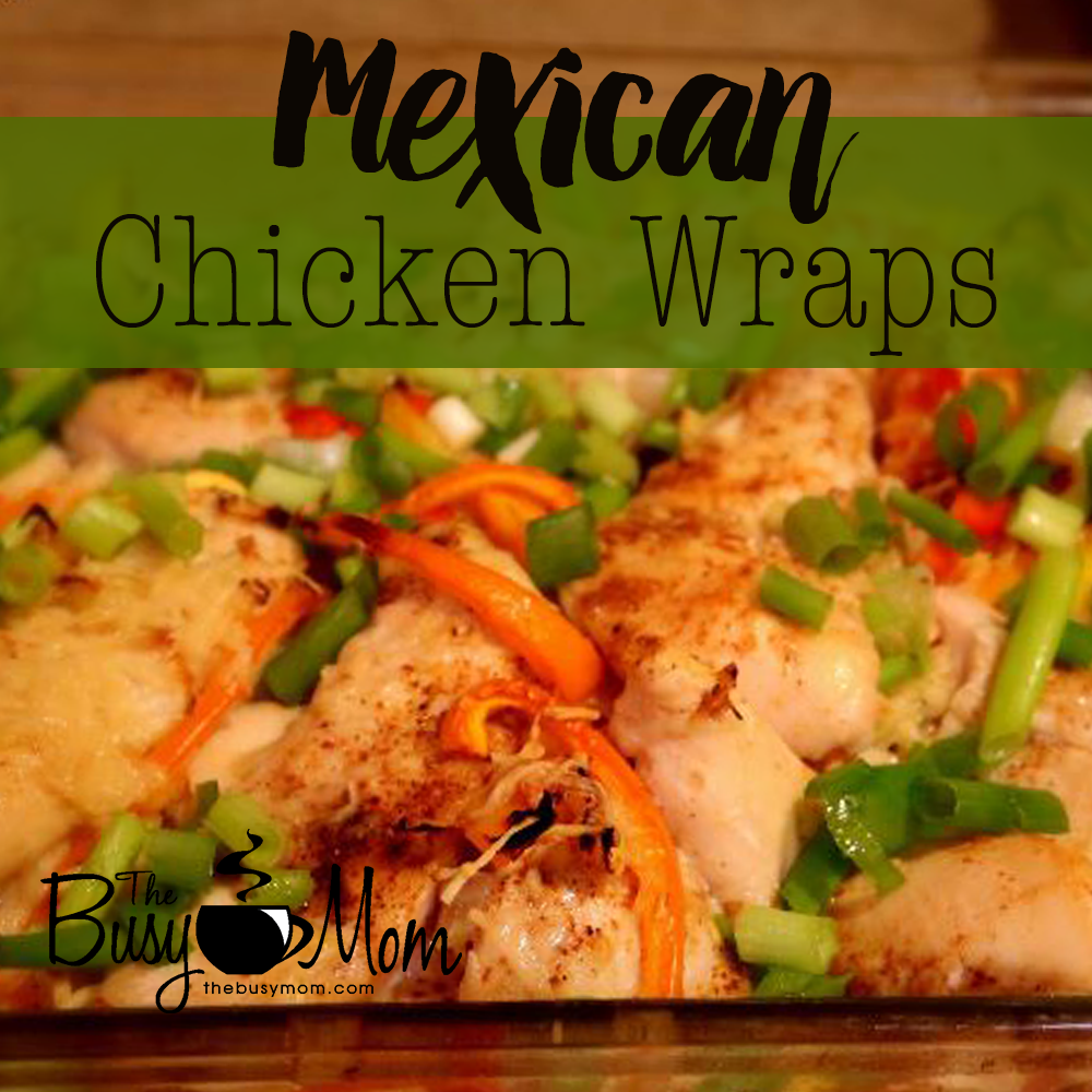 Easy mexican chicken wraps author and speaker heidi st john easy mexican chicken wraps forumfinder Gallery