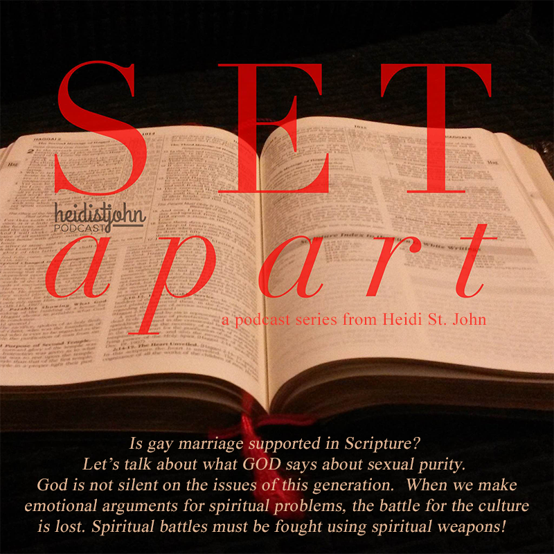 Set Apart – A Call To Live Differently – Part 3