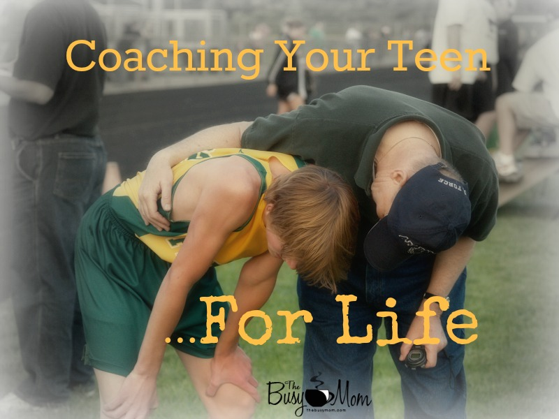 Great tips on coaching your kids through their teen years!