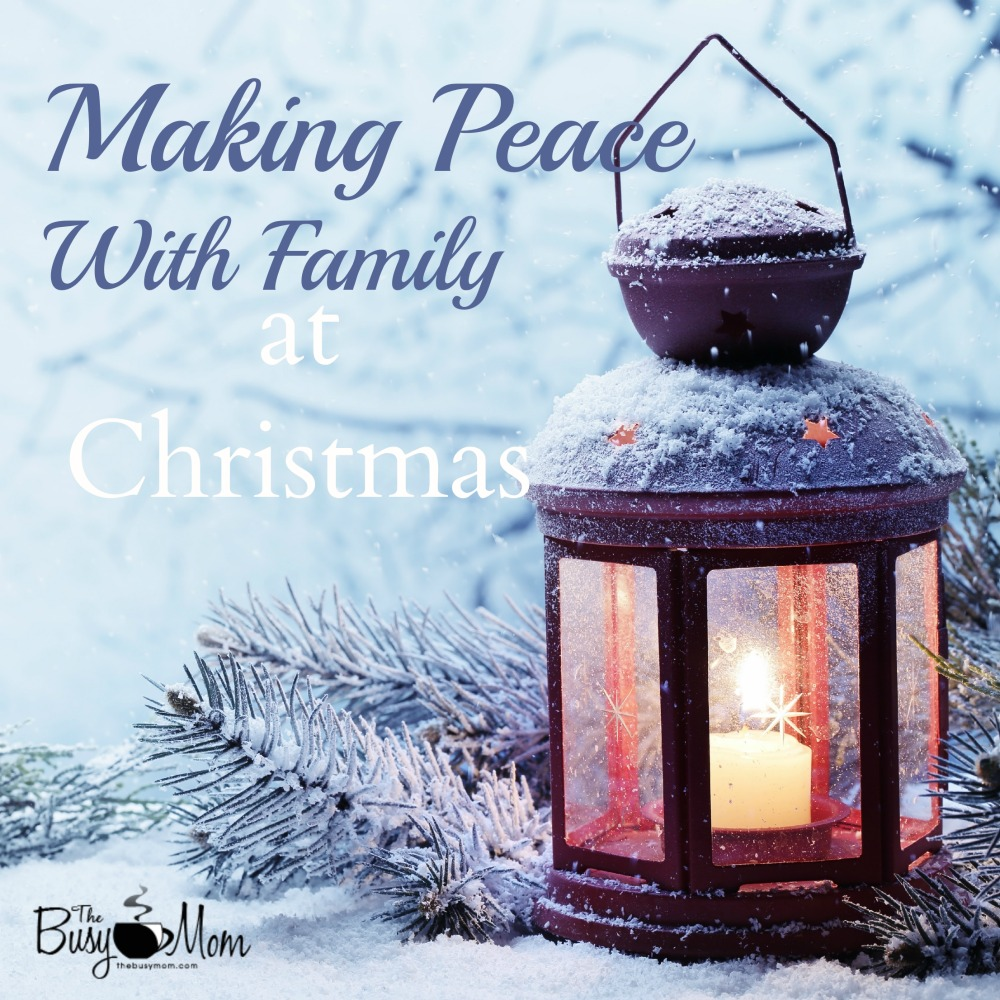 Making Peace With Family at Christmas